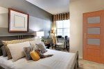 Sypialnia w salonie